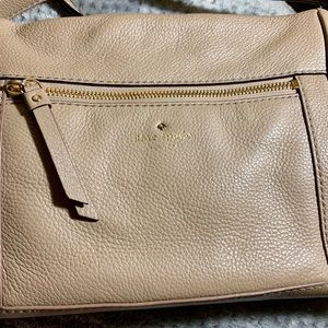 Kate Spade Light Brown crossbody bag